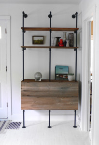 DIY shelves via Hindsvik