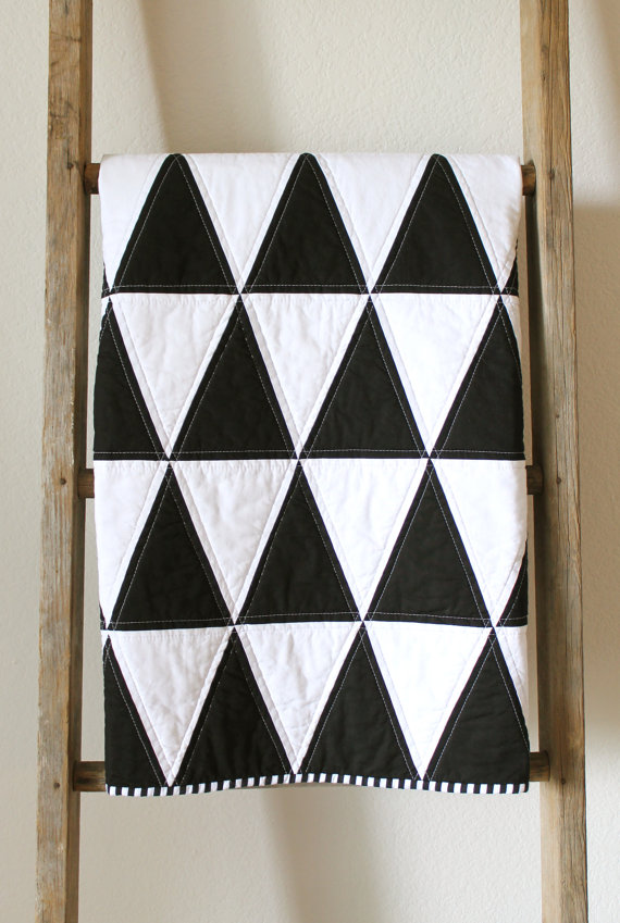 isoceles triangle quilt