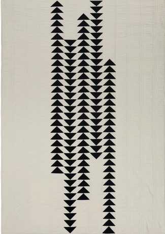 Migration, flying geese variation from S. D. Evans Quilts