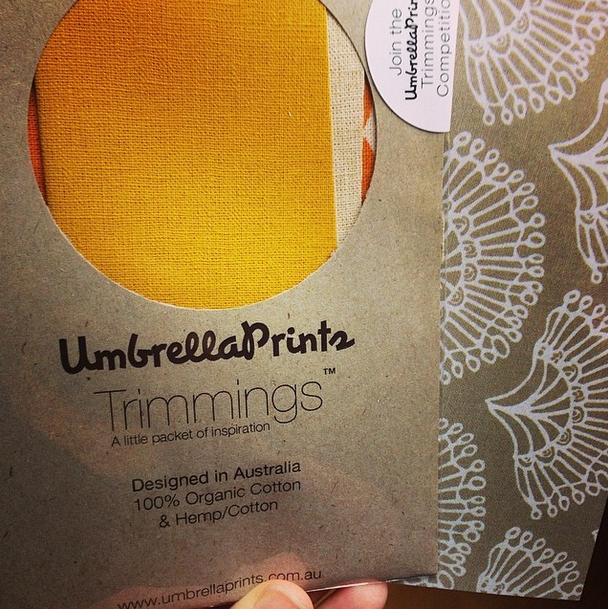 Umbrella Prints Trimmings Competition 2014